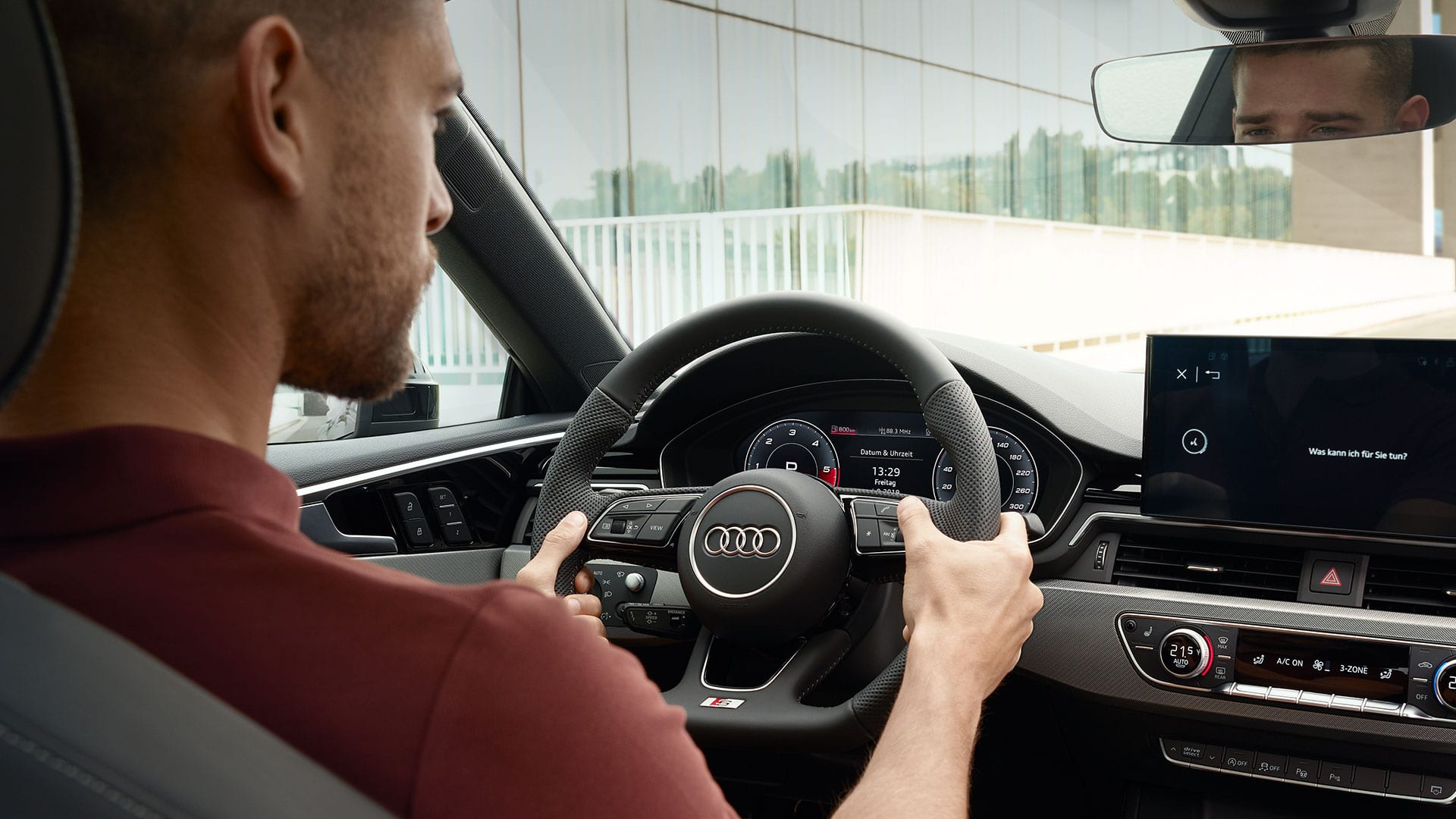 Audi virtual cockpit in the Audi A5 Coupé